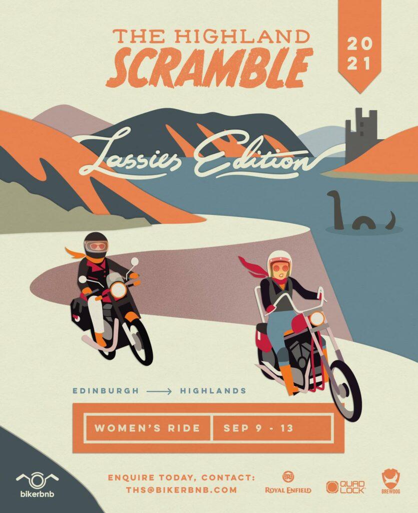 Higland Scramble Lassies Edition